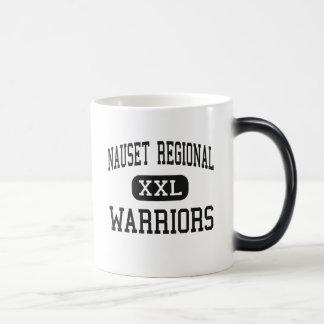 Nauset Regional - Warriors - High - North Eastham 11 Oz Magic Heat Color-Changing Coffee Mug