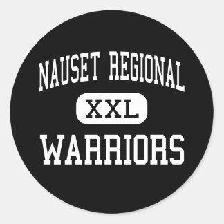 Nauset Regional - Warriors - High - North Eastham Classic Round Sticker