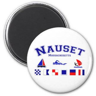 Nauset Signal Flag 2 Inch Round Magnet