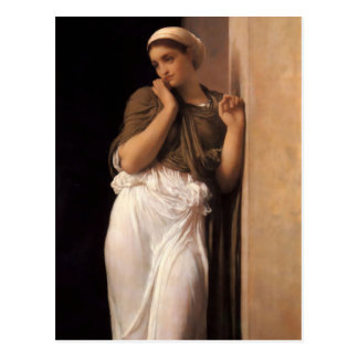 Nausicaa in detail - Lord Frederick Leighton Postcard
