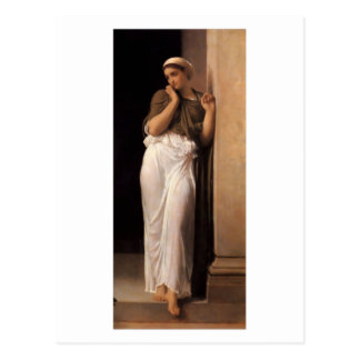 Nausicaa - Lord Frederick Leighton Postcard