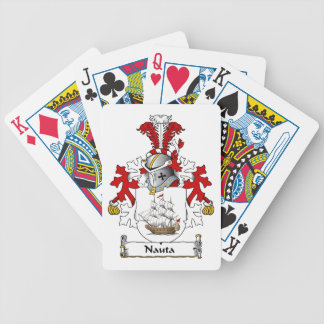 Nauta Family Crest Bicycle Card Decks