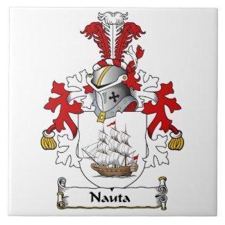 Nauta Family Crest Ceramic Tiles