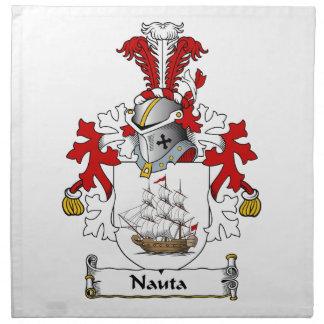 Nauta Family Crest Cloth Napkins