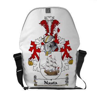 Nauta Family Crest Courier Bag