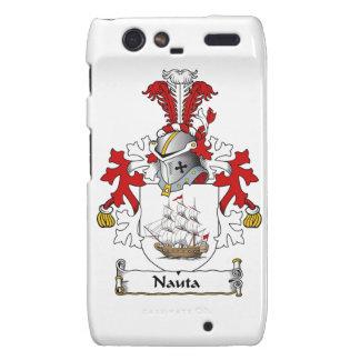 Nauta Family Crest Motorola Droid RAZR Case