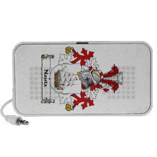 Nauta Family Crest Portable Speakers