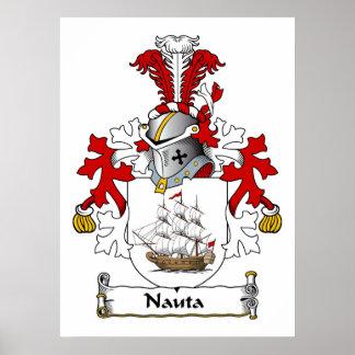 Nauta Family Crest Print