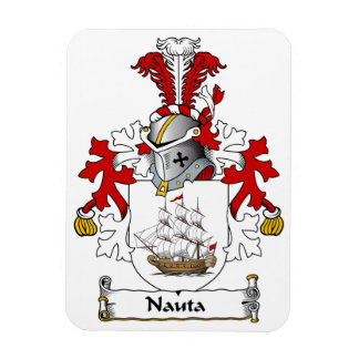 Nauta Family Crest Rectangle Magnets