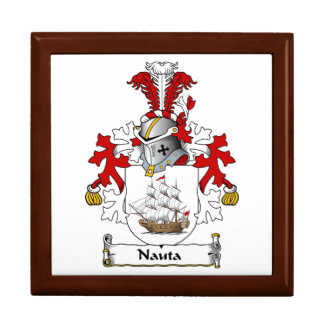 Nauta Family Crest Trinket Box