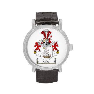 Nauta Family Crest Wrist Watch