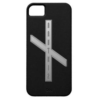 Nauthiz Rune grey iPhone SE/5/5s Case