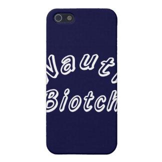 NAUTI BIOTCH iPhone 5 PROTECTORES