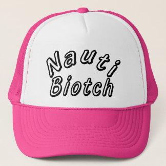 NAUTI BIOTCH TRUCKER HAT
