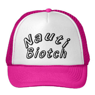 NAUTI BIOTCH TRUCKER HAT