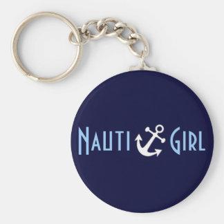Nauti Girl Keychain