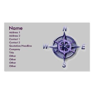 Nautic Business Card Template