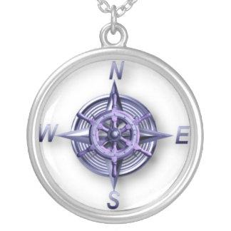 Nautic Round Pendant Necklace