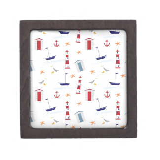 Nautical-788 Jewelry Box
