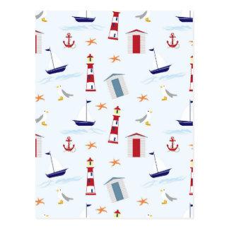 Nautical-788 Postcard