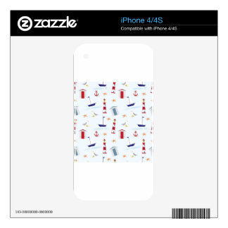 Nautical-788 Decals For The iPhone 4S