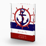 """Nautical Acrylic Award<br><div class=""""desc"""">Whether you&#39;re awarding a top boater at your yacht club,  giving a nursery a nautical theme,  celebrating a big birthday or anniversary for the boat lover in your life - this is a great way to commemorate any boat related special occasion.</div>"""
