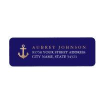 Nautical Address Labels