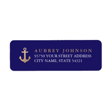Beach Themed Nautical Address Labels
