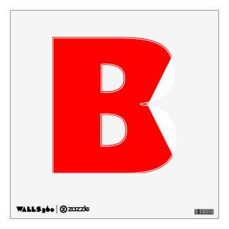 Nautical Alphabet Flag Bravo Letter B Room Decals