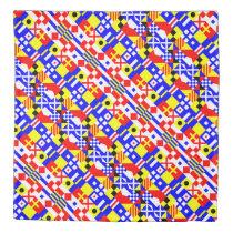Nautical Alphabet Signal Flags Pattern Duvet Cover