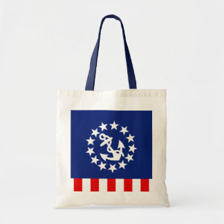 Nautical American Yacht Flag Design Tote Bag