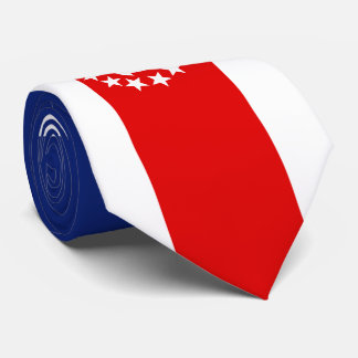 Nautical American Yacht Flag is at the Marina Neck Tie
