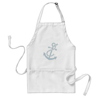 Nautical Anchor Adult Apron