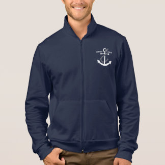 Nautical Anchor and Rope Jacket