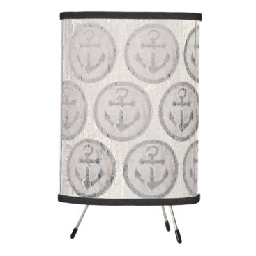 Beach Themed Nautical Anchor Chalkboard Beach House Tripod Lamp