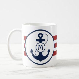 Nautical Anchor Classic White Coffee Mug