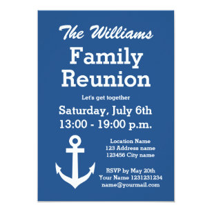 family party invitations