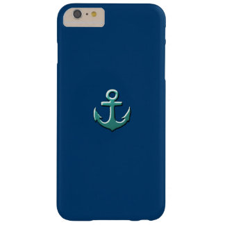 nautical anchor funda para iPhone 6 plus barely there