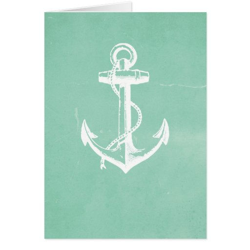 Nautical Anchor Greeting Cards