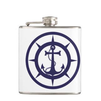 Nautical Anchor Hip Flask