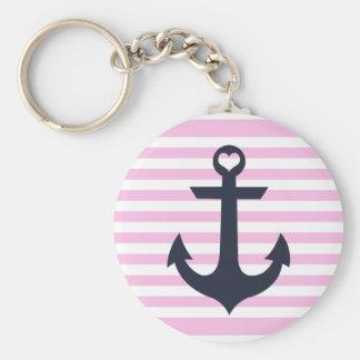 Nautical Anchor Key Chain