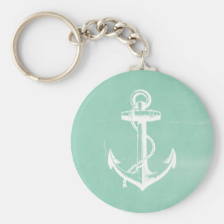 Nautical Anchor Keychain