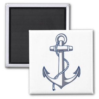 Nautical Anchor Fridge Magnet