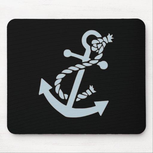 Nautical Anchor Mouse Mats