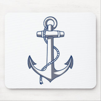 Nautical Anchor Mouse Pad