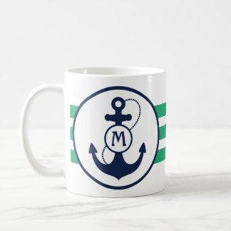 Nautical Anchor Mug