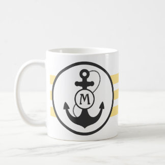 Nautical Anchor Coffee Mugs