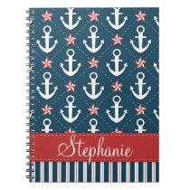 Nautical Anchor Notebook