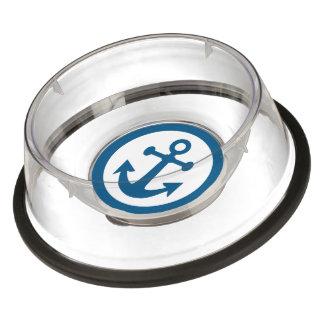 Nautical Anchor pet bowls Bowl