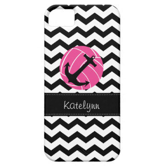 Nautical Anchor Pink Volleyball iPhone 5 Case